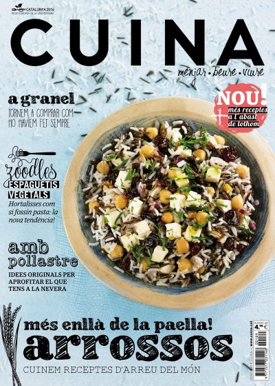 REVISTA CUINA Arroces #189